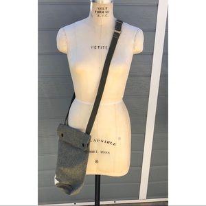 Military inspired crossbody bag